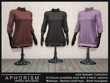 !APHORISM! - Julie Sweater DEMO