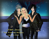 .::Y&R::.Design The vampire Dairies multiple persons pose(boxed)