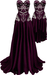 RIOT / Ivy Dresses - Plum | Maitreya / Belleza / Slink / Legacy