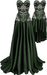 RIOT / Ivy Dresses - Olive | Maitreya / Belleza / Slink / Legacy