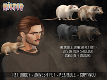 HILTED - Rat Buddy Pack