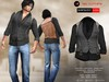 A&D Clothing - Shirt&Vest -Luka- Charcoal