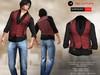 A&D Clothing - Shirt&Vest -Luka- Burgundy