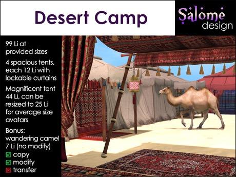 Desert Camp - Tents Fatpack with Bonus