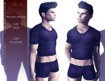 [HoR] Lover Tee & Boxers set for Him - BOM & mesh body appliers & classic avatar layers