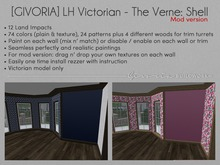 [GIVORIA] - LH Victorian - The Vernes Shell: Mod Version (wall paints)