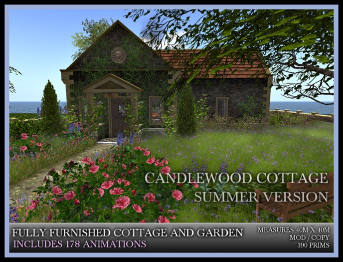 TMG - CANDLEWOOD COTTAGE IN SUMMER* Fully Furnished Fairytale home with Landscaped Garden