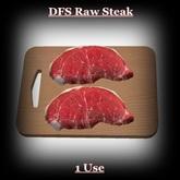 DFS Raw Steak
