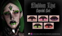 Spookshow - Abaddon Lips - Special Set