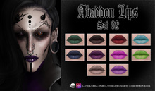 Spookshow - Abaddon Lips - Set 02