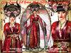 irrISIStible : CHINA EMPRESS KIMONO OUTFIT 2020 NEW YEAR + HAIR + SHOES