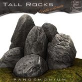 New Release Tall Rocks Gray Version