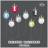 Sequel - Unicorn Balloons - Fatpack