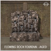 Sequel - Flowing Rock Fountain - Aged (Wear Me)