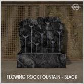 Sequel - Flowing Rock Fountain - Black (Wear Me)