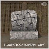 Sequel - Flowing Rock Fountain - Gray