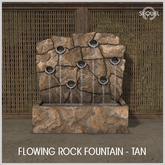 Sequel - Flowing Rock Fountain - Tan (Wear Me)