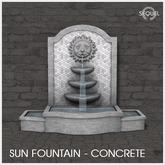 Sequel - Sun Fountain - Concrete