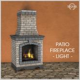 Sequel - Patio Fireplace - Light