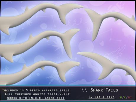 [P] Shark Tails BENTO - rez to unpack
