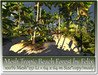 Mesh Tropic Beach Forest by Felix 251 Li=64x64m c-m