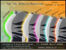 [P] Regalia masculine MPREG Bellies - rez to unpack