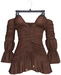 adorsy - Magdalena Dress Dark Brown - Maitreya/Legacy