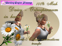 Daisy in left hand, B&C anim., white_001_1