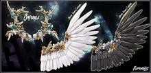 Grixdale - Elemental - Wings - Gold/Black