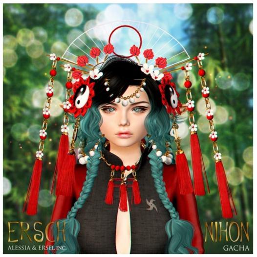 ERSCH - Nihon Gacha Necklace 07 Blue
