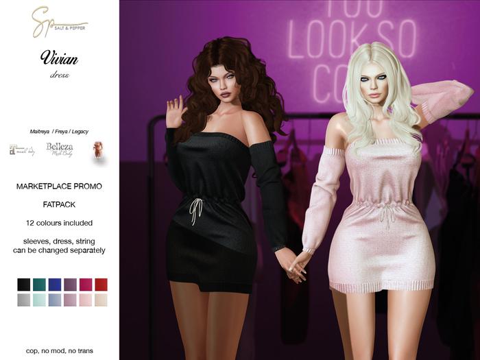 S&P Vivian dress (wear to unpack)