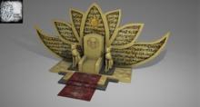 Throne of the Egyptian cat Full Perm Mesh