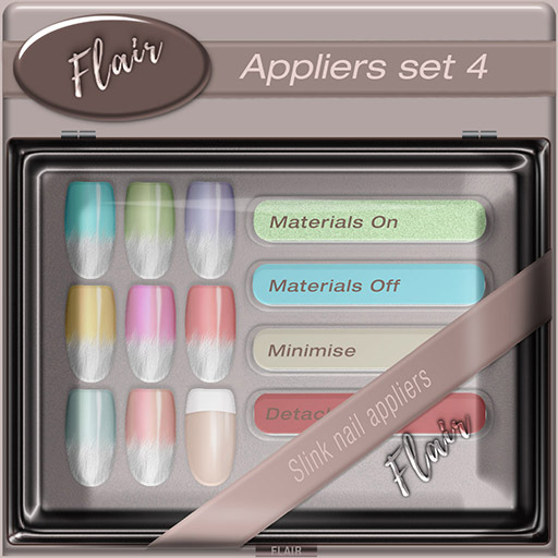 Flair - Nail Appliers Slink - Set 4
