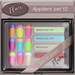Flair - Nail Appliers Slink - Set 12