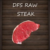 DFS Raw Steak