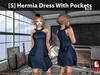 [S] Hermia Dress With Pockets Blue