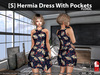 [S] Hermia Dress With Pockets Floral