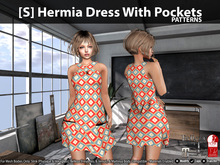 [S] Hermia Dress With Pockets Patterns