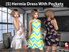 s  hermia dress with pockets promo pic