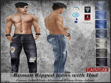 Tastic-Roman Ripped Jeans with Hud