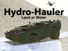 True Amphibian! Automatic Land or Water - GTFO! Ready