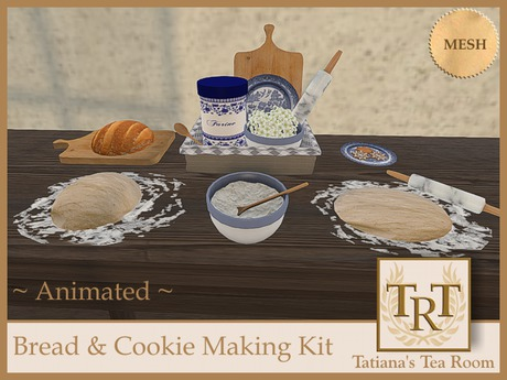 TTR-Bread & Cookie Making Kit (Animated)