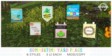 Sequel - Summertime Yard Flags