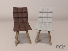 ChiMia:: Leather Dining Chair [white]