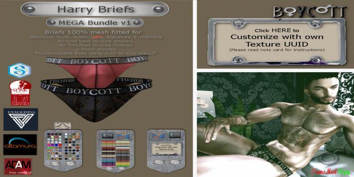 */BOYCOTT\* HARRY BRIEFS MEGA BUNDLE V1 (ADD) (ADD)