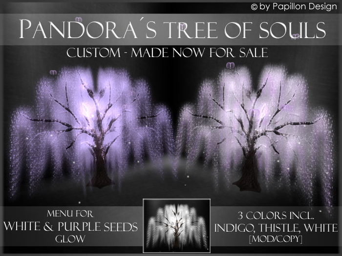 .:: PaPiLLoN Design ::. Pandora's Tree of Souls - Custom Made