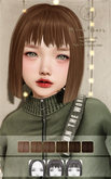 ::C'est la vie !:: Mimi Hair [Brown] / 6 Hair colors Change / 3 Style / Tint Option