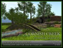 TMG - CORNISH CREEK IN SUMMER* Landscaped Garden