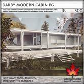 Trompe Loeil - Darby Modern Cabin PG [mesh]