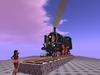 Mighty  steam bavarian train replica